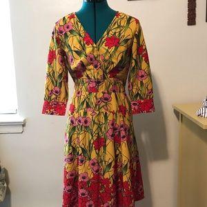 Eshakti floral print dress